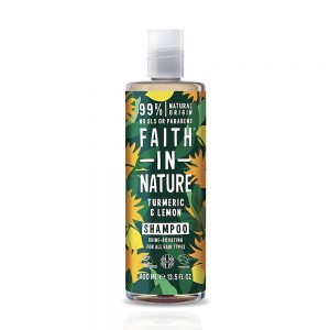 Faith in Nature šampon za kosu Kurkuma i Limun 400ml