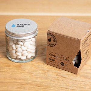 HYDROPHILL tablete za pranje zubi menta – limun bez fluorida 130kom