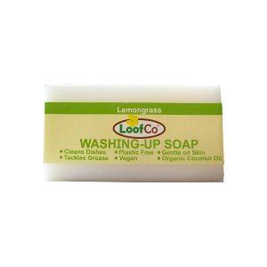 Loofco Sapun za pranje suđa i rublja, miris limunske trave 100g