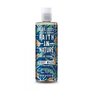 Faith in Nature muški gel za tuširanje Sibirski cedar 400 ml