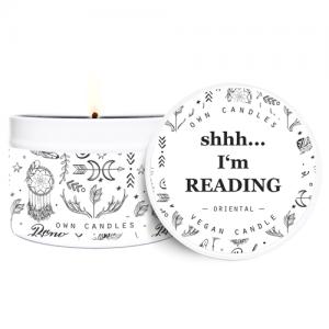 Putna mirisna svijeća u limenci – Oriental 90 g