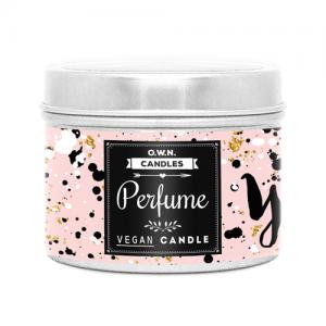Putna mirisna svijeća u limenci – Perfume 90 g