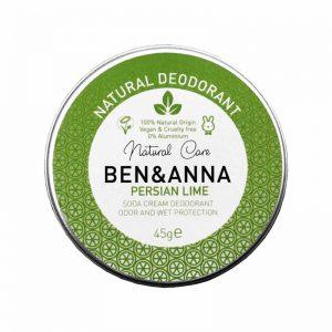 Ben & Anna prirodni dezodorans u kremi, Persian Lime 45g