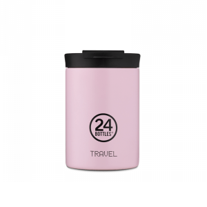Termo Šalica Travel Tumbler 24Bottles – CANDY PINK  350ml