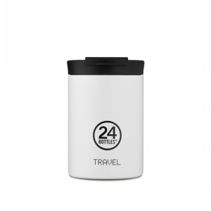 Termo Šalica Travel Tumbler 24Bottles – ICE WHITE  350ml