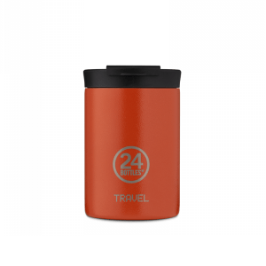 Termo Šalica Travel Tumbler 24Bottles – SUNSET ORANGE  350ml