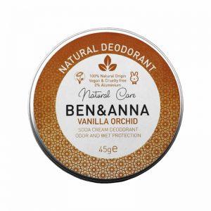 Ben & Anna prirodni dezodorans u kremi, Vanilla Orchid 45g