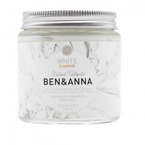 Ben&Anna prirodna pasta za zube White s Fluoridom