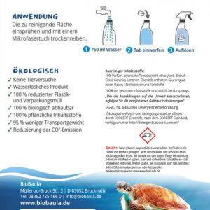 Biobaula ekološke tablete za čišćenje kupaonice