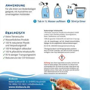 Biobaula ekološke tablete za čišćenje podova