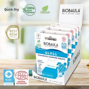 Biobaula ekološke tablete za čišćenje stakla