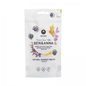 Ben&Anna Prirodne Tablete za Tuširanje Velvet