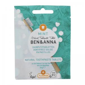 Ben&Anna Prirodne Tablete za Pranje zubi Mint sa Fluoridom