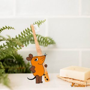 "HYDROPHILL Dječja četkica za zube od bambusa ""Miš"""