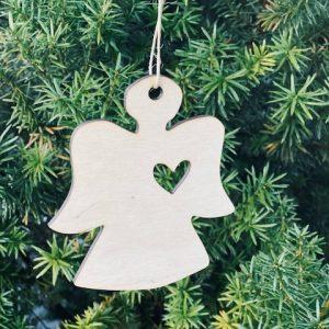 ECO Božićni Ukrasi – Anđeo