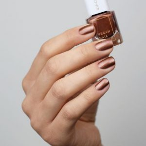 KIA-CHARLOTTA Veganski Lak za nokte,Trend Collection EMPOWERED Metallic Brunette