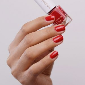 KIA-CHARLOTTA Veganski Lak za nokte, Basic Collection HUSTLE Berry Red