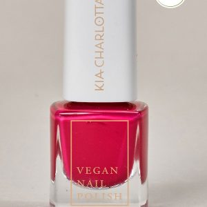 KIA-CHARLOTTA Veganski Lak za nokte, Basic Collection MIDSUMMER MAGIC Crimson Red