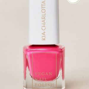 KIA-CHARLOTTA Veganski Lak za nokte,Trend Collection MY LIFE MY RULES Deep Neon Pink