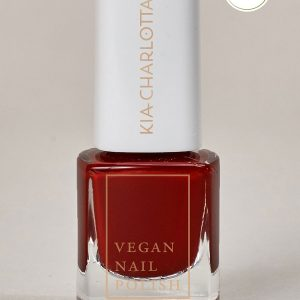 KIA-CHARLOTTA Veganski Lak za nokte, Basic Collection Successful Cherry Red