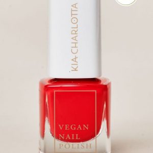 KIA-CHARLOTTA Veganski Lak za nokte,Trend Collection TRUST YOUR HEART Imperial Red