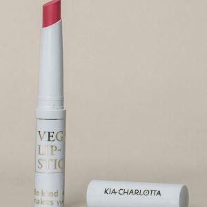 Kia-Charlotta 100 % Prirodni Veganski Ruž za Usne, Do it Anyway( Bright Berry Pink)