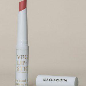 Kia-Charlotta 100 % Prirodni Veganski Ruž za Usne, Problem Solver ( Light Neutral Pink)