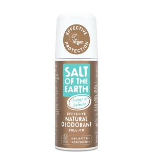 Salt of the Earth  Ginger & Jasmine Deodorant Roll-On 75ml