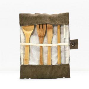 BAMBAW Pribor za Jelo od Bambusa