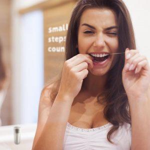 BAMBAW Biorazgradivi svileni zubni Konac