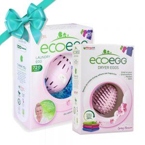 ECOEGG SET iz jajeta za pranje i sušenje rublja – miris proljetnog cvijeća