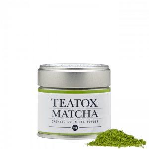 Čaj Teatox Matcha Organic zeleni