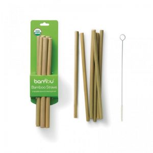 Slamke od bambusa – set od 6 komada