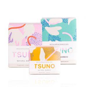 Mjesečni paket TSUNO prirodnih uložaka od bambusa