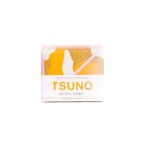 TSUNO prirodni dnevni ulošci od bambusa – 20 komada