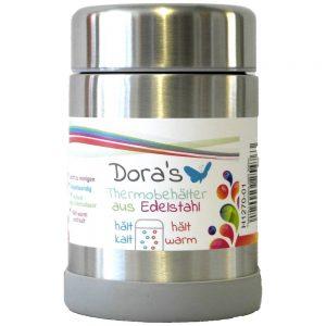 Dora's termos posuda za hranu –  metalna boja 300 ml