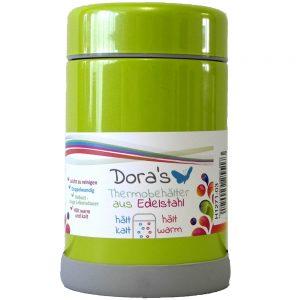Dora's termos posuda za hranu – svjetlo zelena 300 ml
