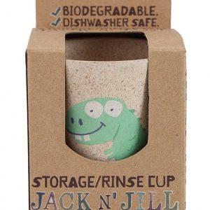 Jack'n Jill  šalica za četkicu za zube –Dino