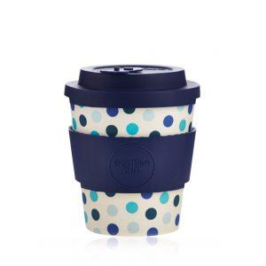 Ecoffee šalica za kavu/čaj  – Blue Polka 250ml