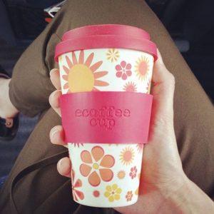 Ecoffee šalica za kavu/čaj  – Happy