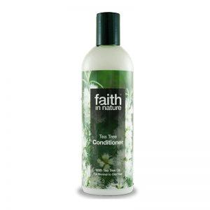 Faith in Nature balzam za masnu kosu čajevac 400ml