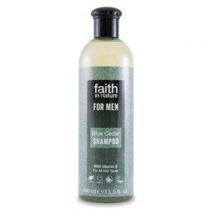 Faith in Nature muški šampon sibirski cedar 400ml