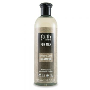 Faith in Nature muški šampon đumbir i limeta 400ml