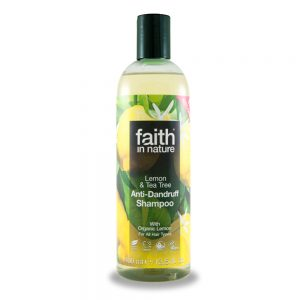 Faith in Nature šampon protiv peruti čajevac limun 400ml