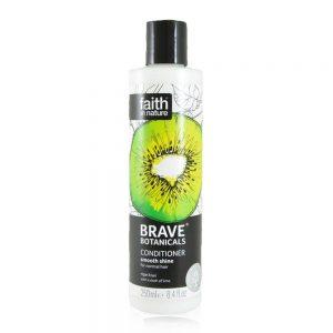 Brave Botanicals balzam za sjajnu kosu kiwi limeta 250ml