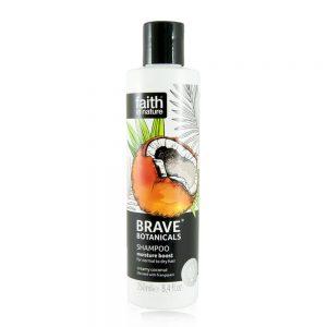 Brave Botanicals hidratantni njegujući šampon kokos 250ml