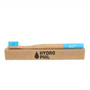 Četkica od bambusa za odrasle -plava (4 komada u paketu)
