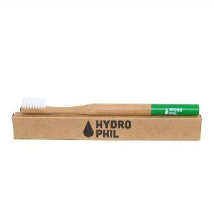 Četkica od bambusa za odrasle -zelena