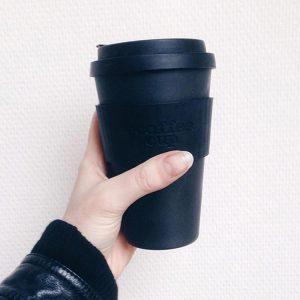 Ecoffee šalica za kavu/čaj  – Blackout
