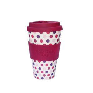 Ecoffee šalica za kavu/čaj  – Pink Polka
